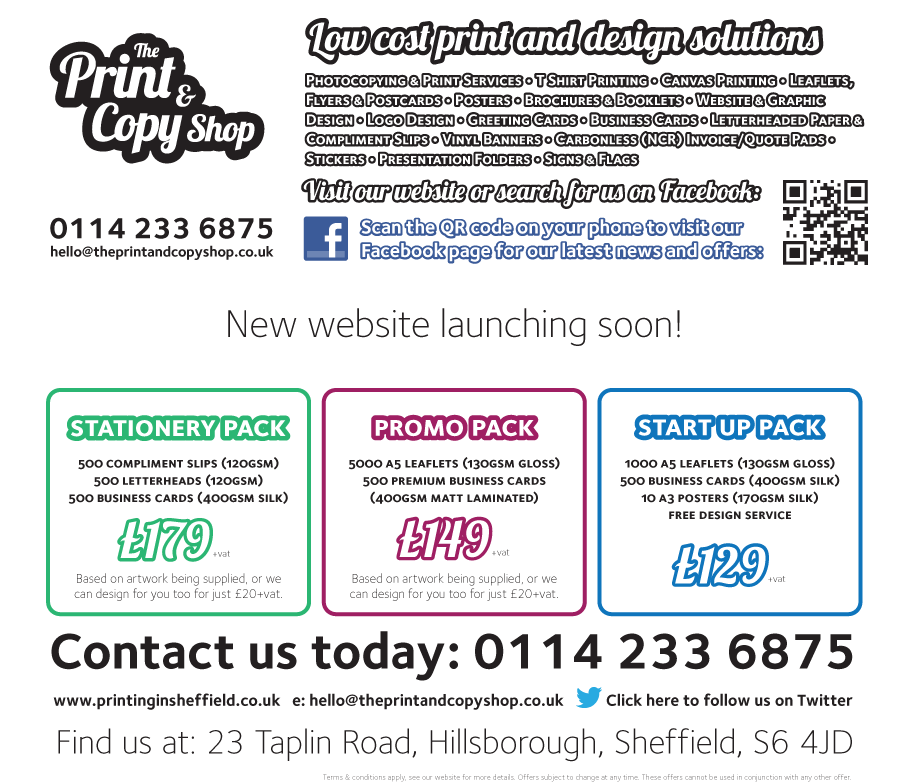 Cheap Leaflets, Low cost printing - The Print & Copy Shop ...